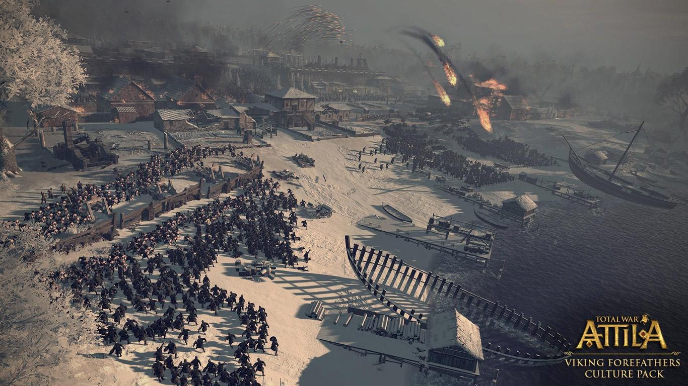 Free Total War: Attila Wallpaper in 1366x768