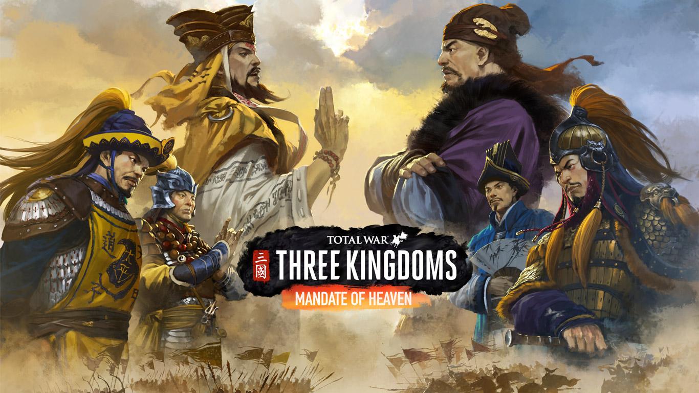 Free Total War: Three Kingdoms Wallpaper in 1366x768