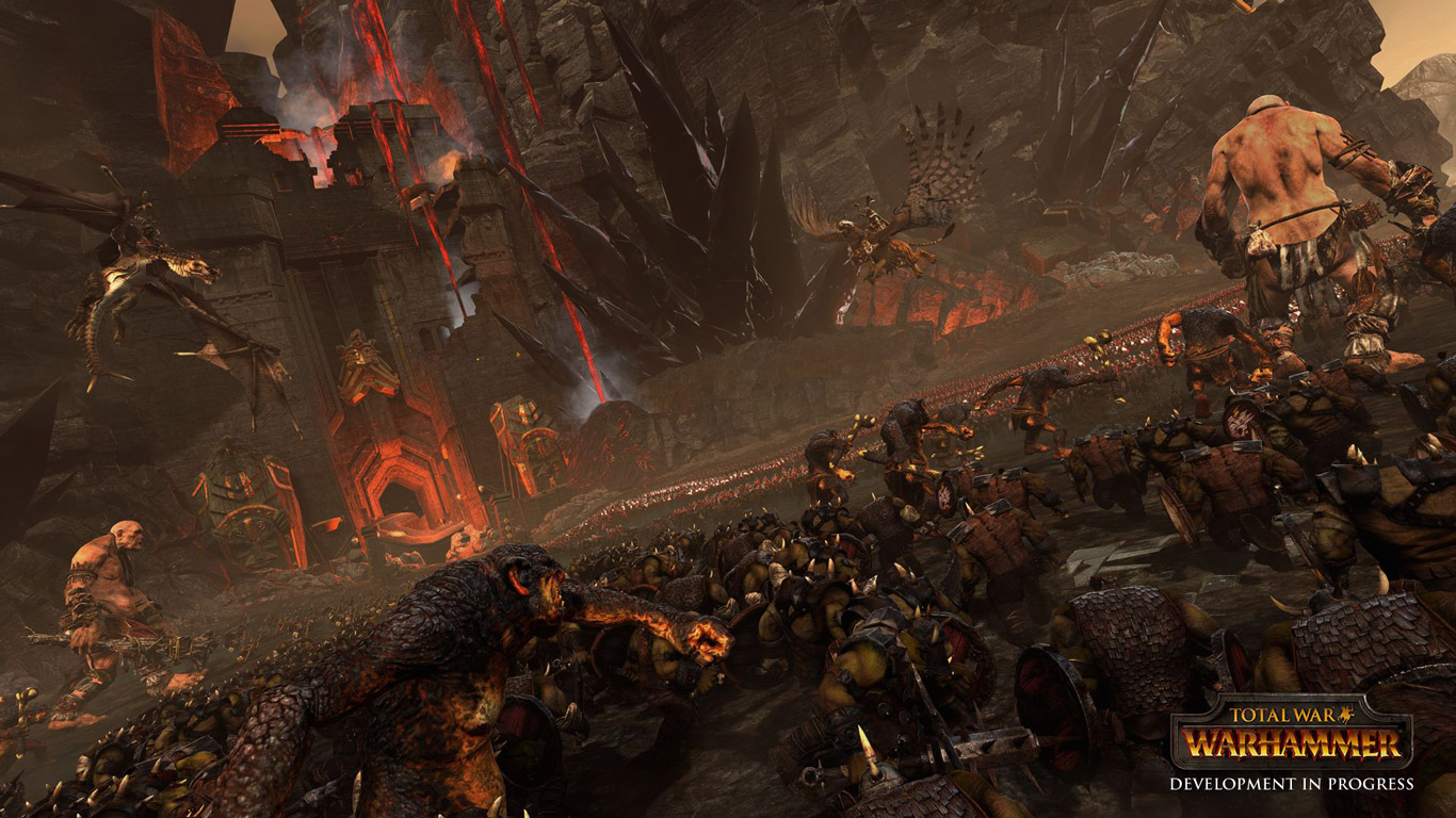 Free Total War: Warhammer Wallpaper in 1366x768
