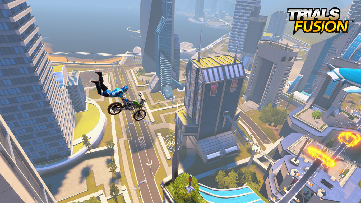 Free Trials Fusion Wallpaper in 1366x768