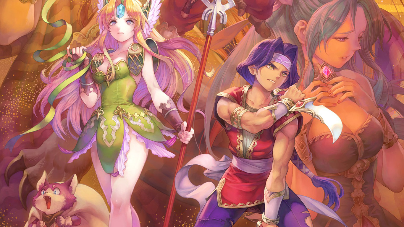 Free Trials of Mana Wallpaper in 1366x768