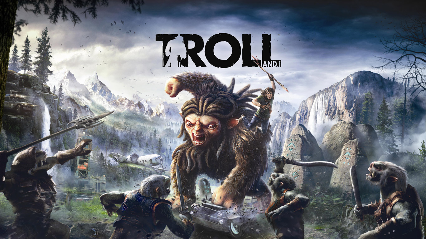 Troll and I Wallpaper in 1366x768