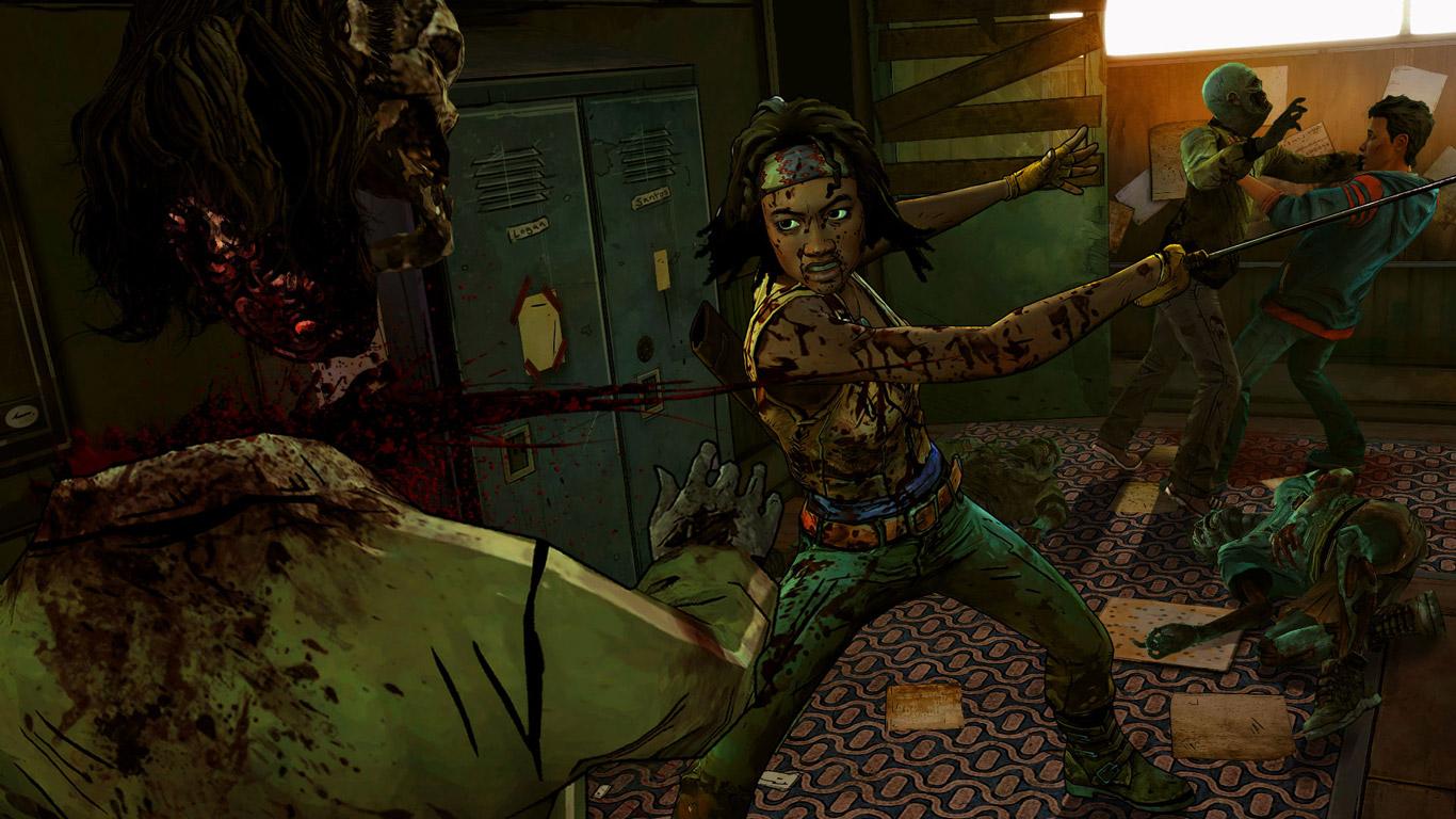 The Walking Dead: Michonne Wallpaper in 1366x768