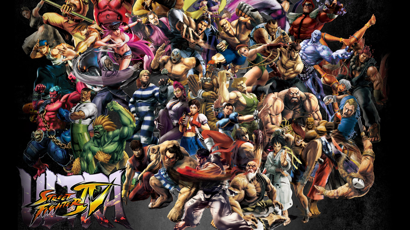 Ultra Street Fighter IV Wallpaper in 1366x768
