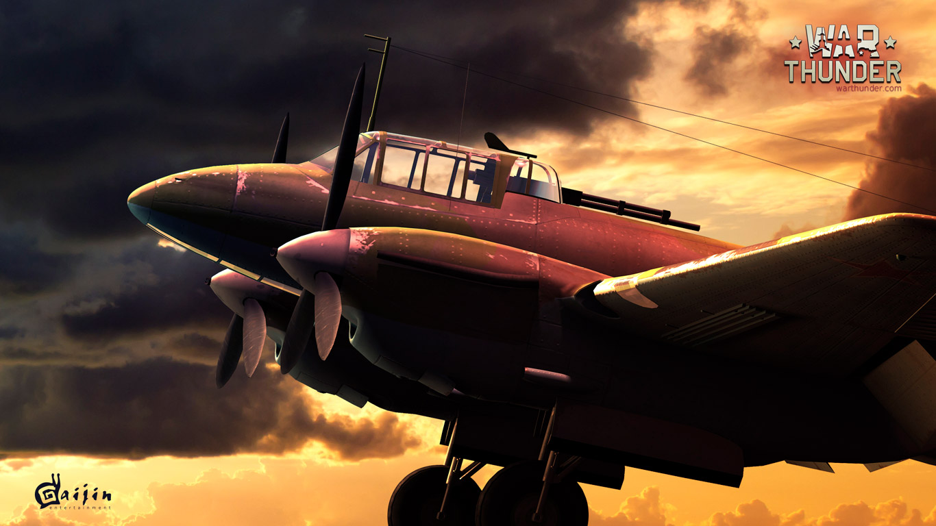 Free War Thunder Wallpaper in 1366x768