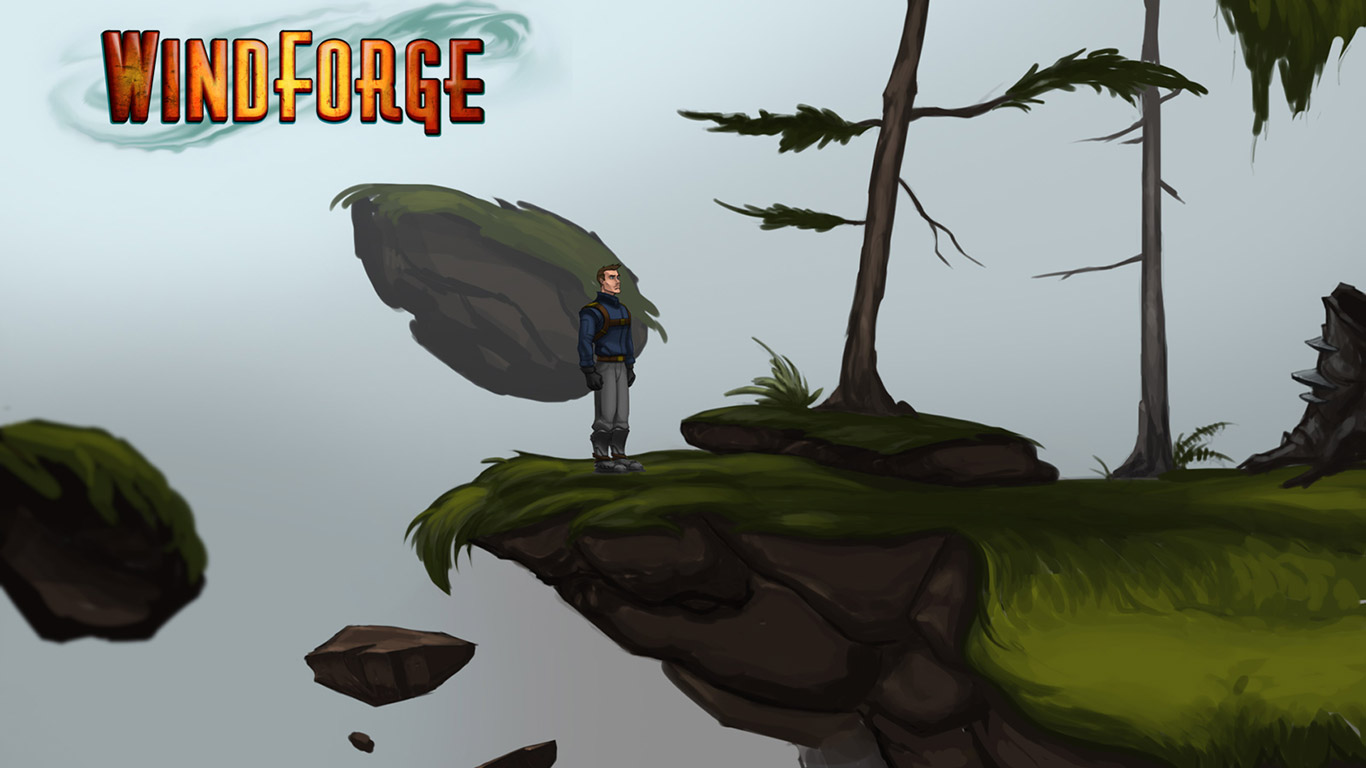 Free Windforge Wallpaper in 1366x768