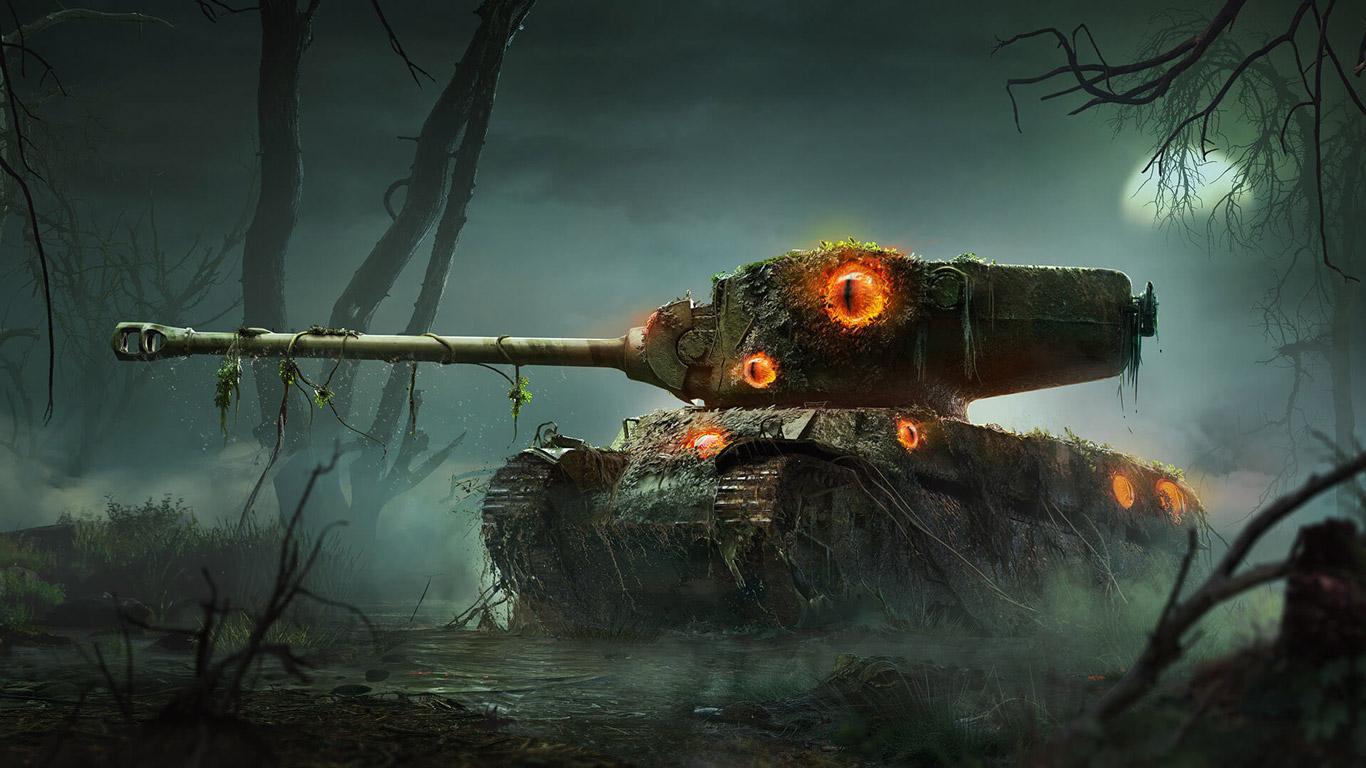 Free World of Tanks Wallpaper in 1366x768