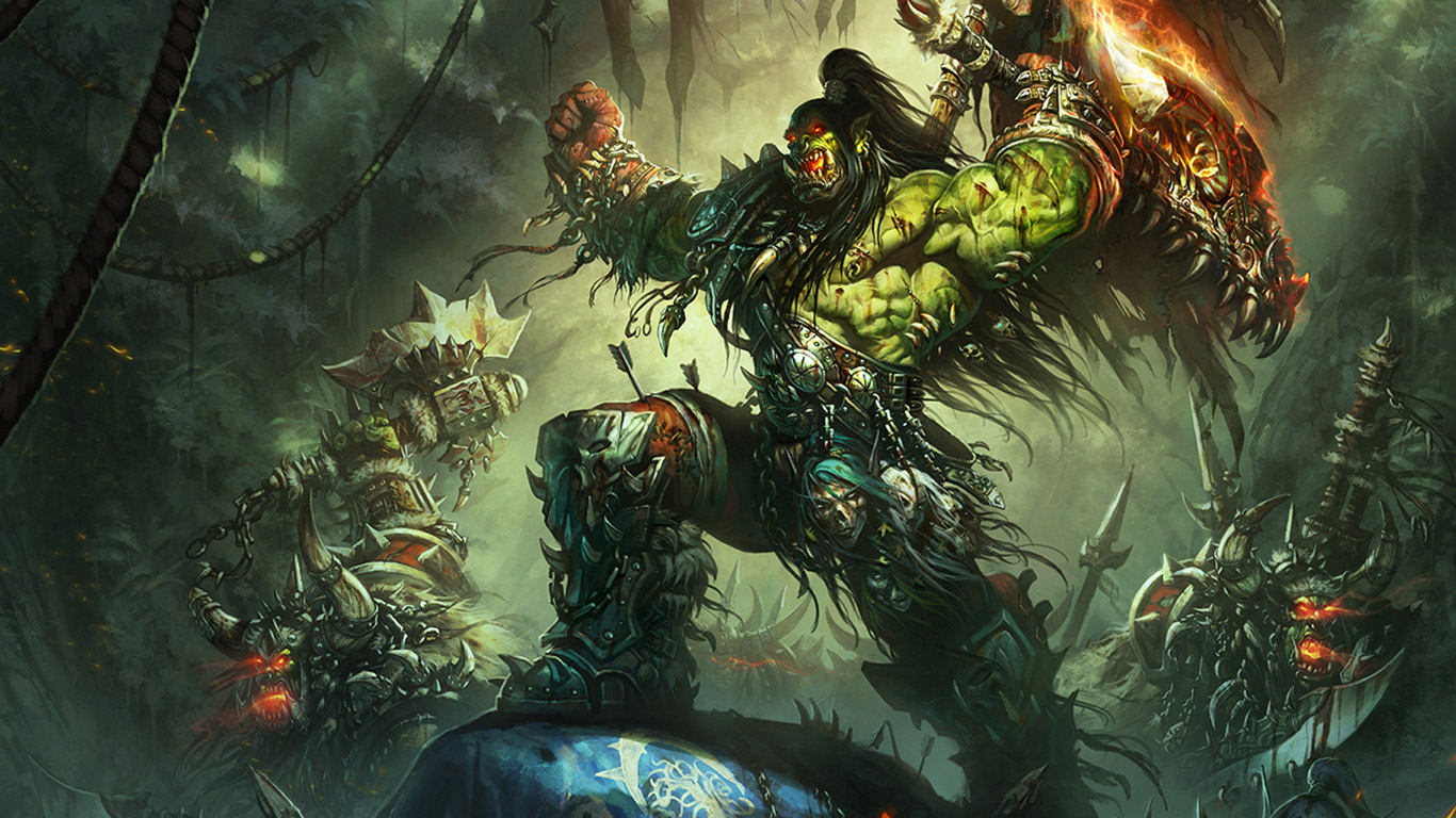 Free World of Warcraft Wallpaper in 1366x768