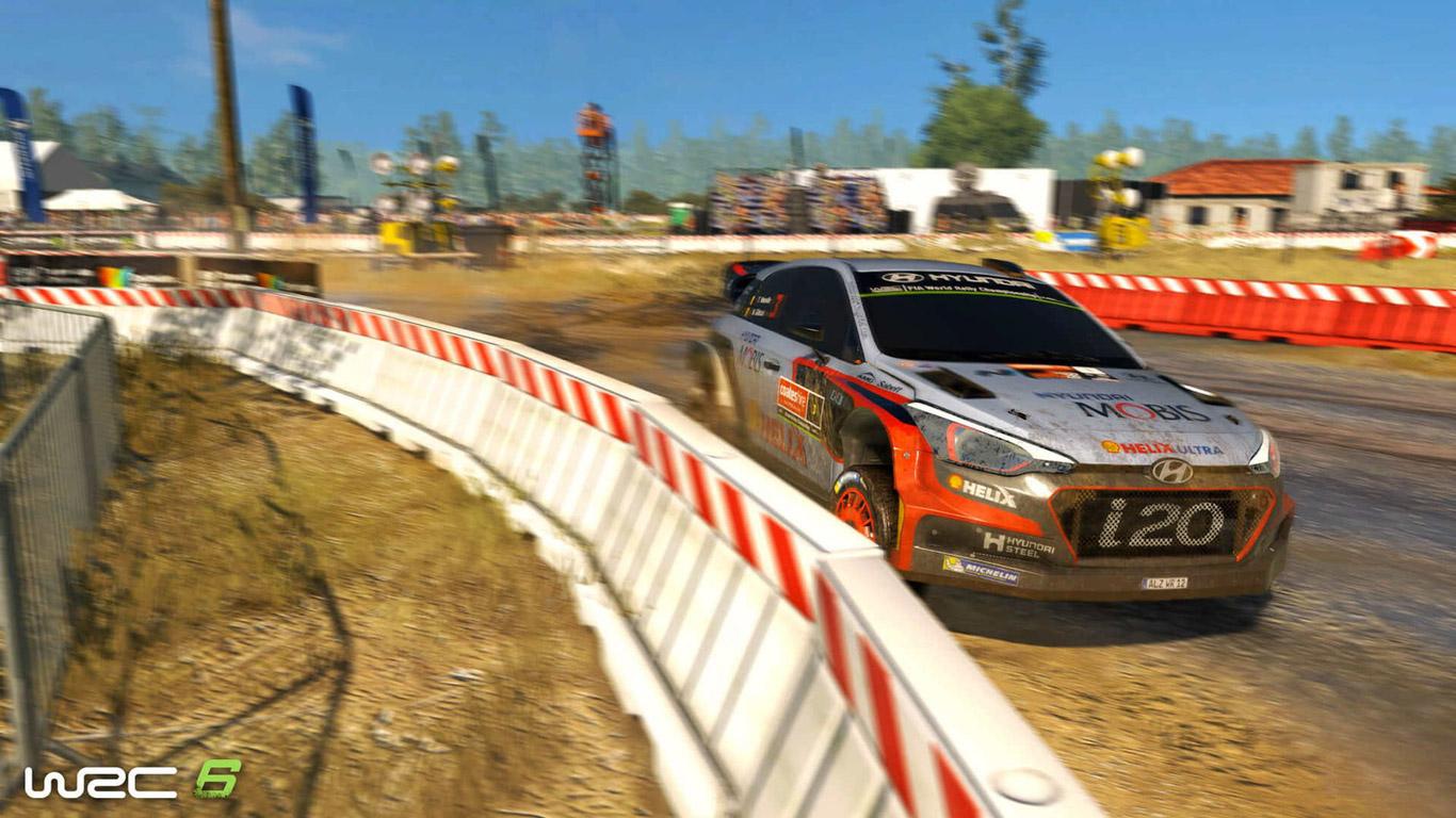 WRC 6 Wallpaper in 1366x768
