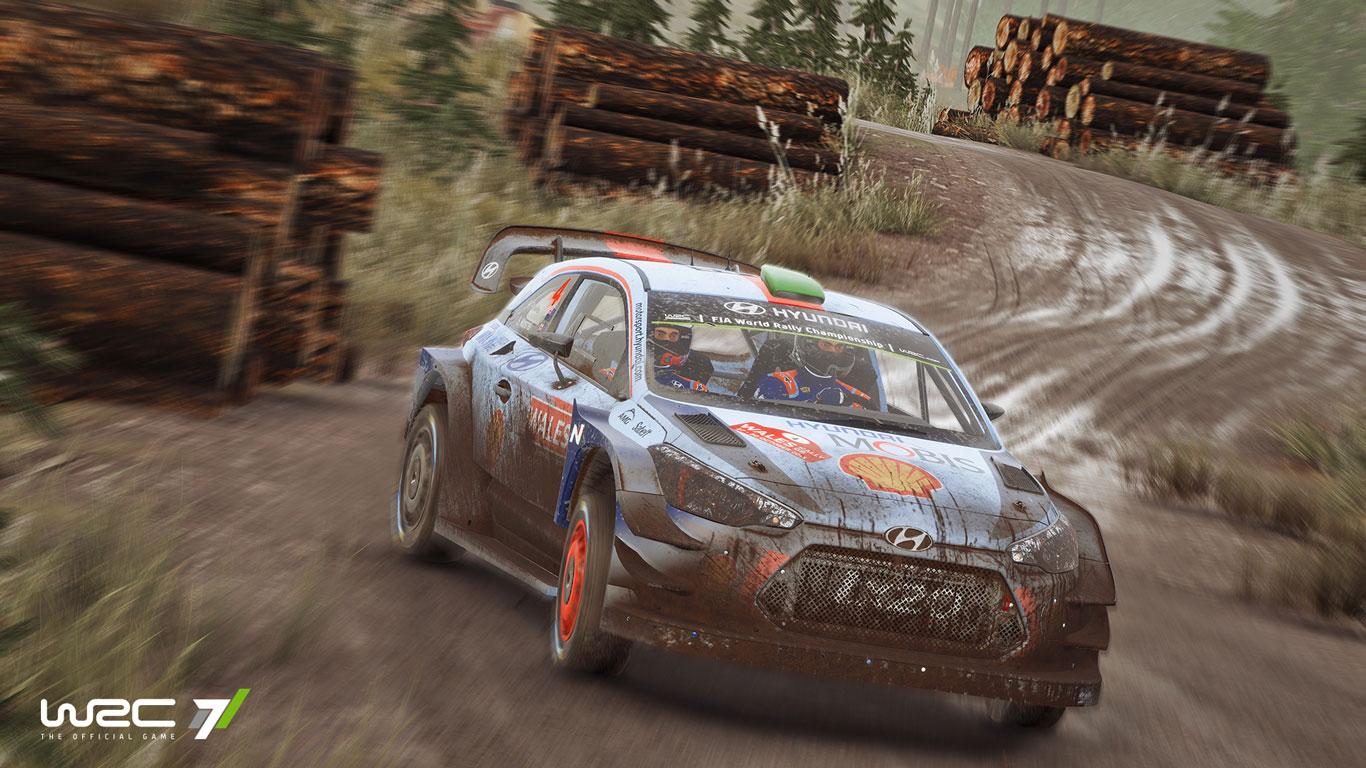 Free WRC 7 Wallpaper in 1366x768