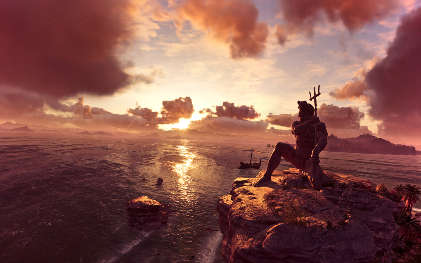 Free Assassin's Creed Odyssey Wallpaper in 1440x900
