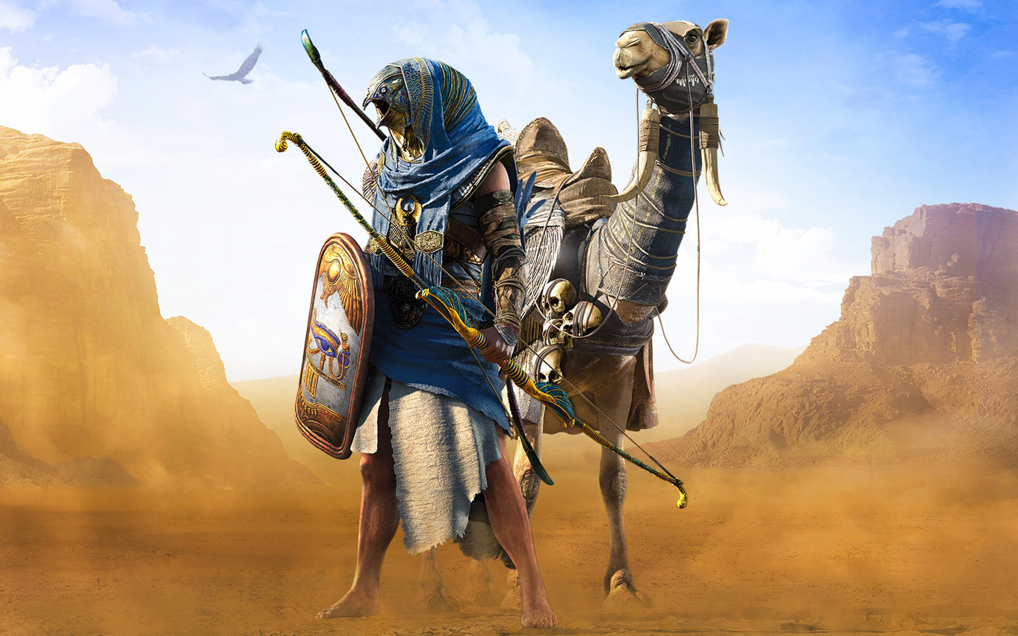 Free Assassin's Creed Origins Wallpaper in 1440x900
