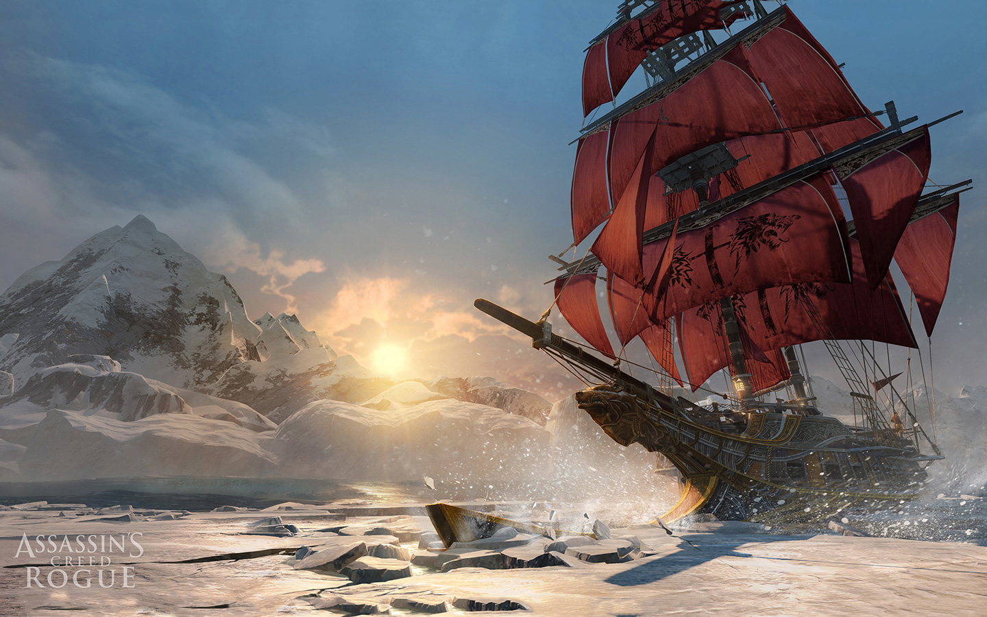 Assassin's Creed: Rogue Wallpaper in 1440x900