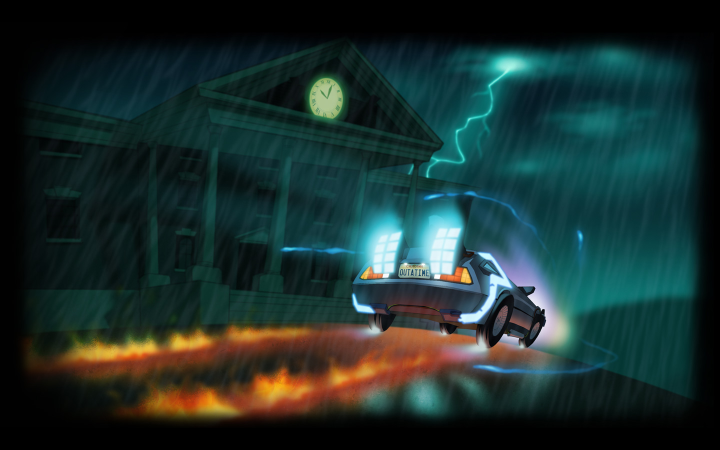 Free Back to the Future: The Game Wallpaper in 1440x900