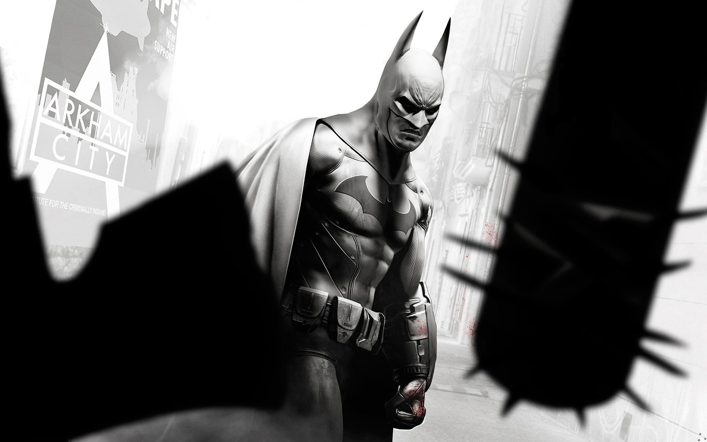 Free Batman: Arkham City Wallpaper in 1440x900