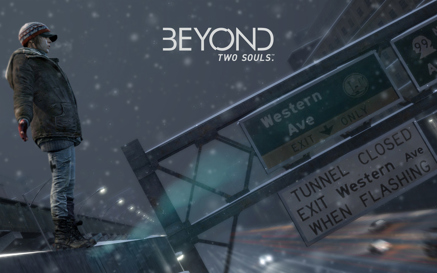 Free Beyond: Two Souls Wallpaper in 1440x900