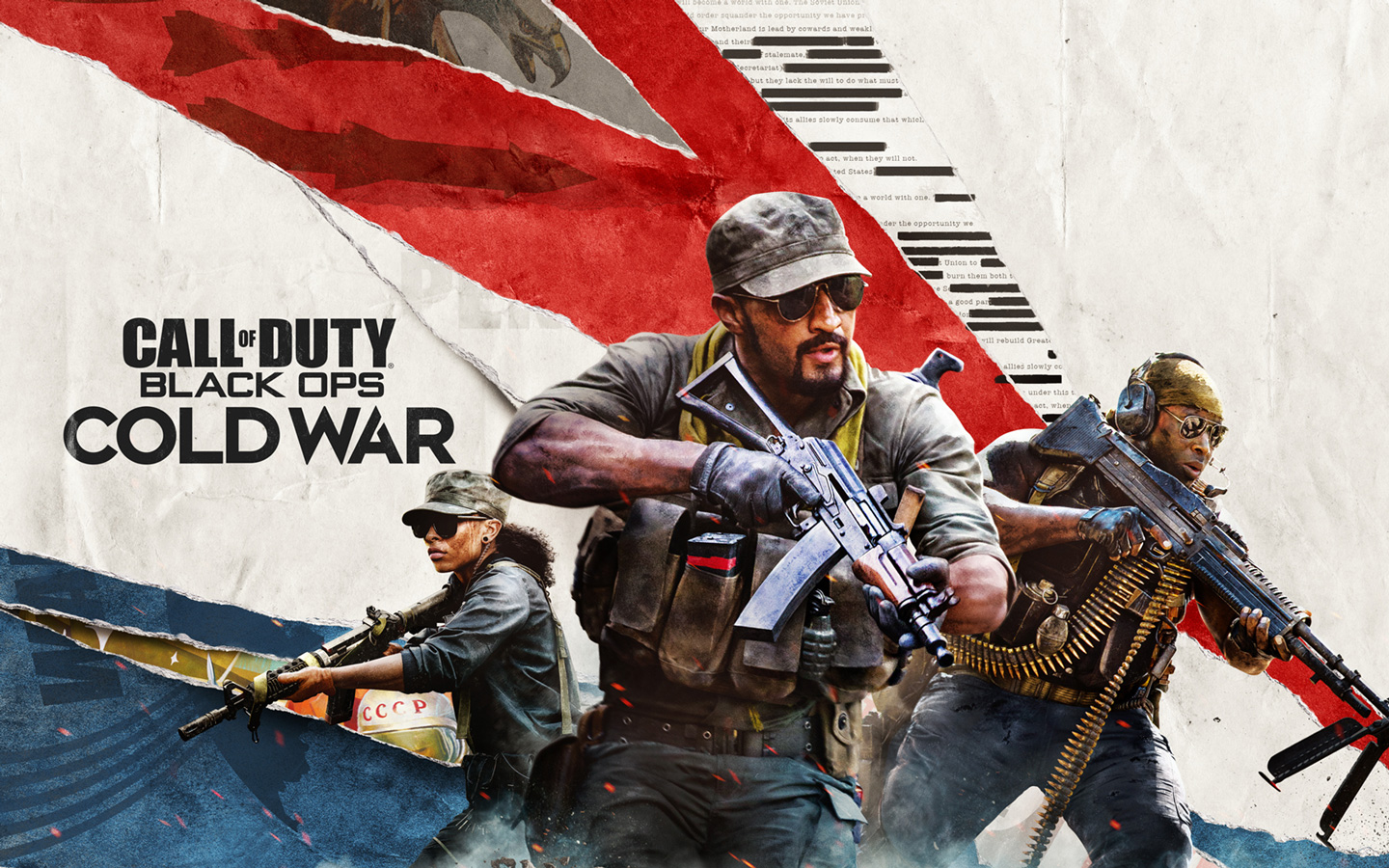 Call of Duty: Black Ops Cold War Wallpaper in 1440x900