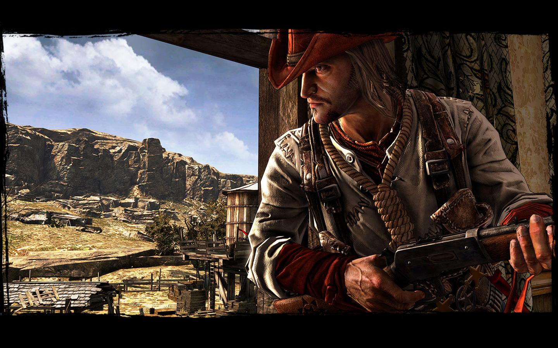 Free Call of Juarez: Gunslinger Wallpaper in 1440x900
