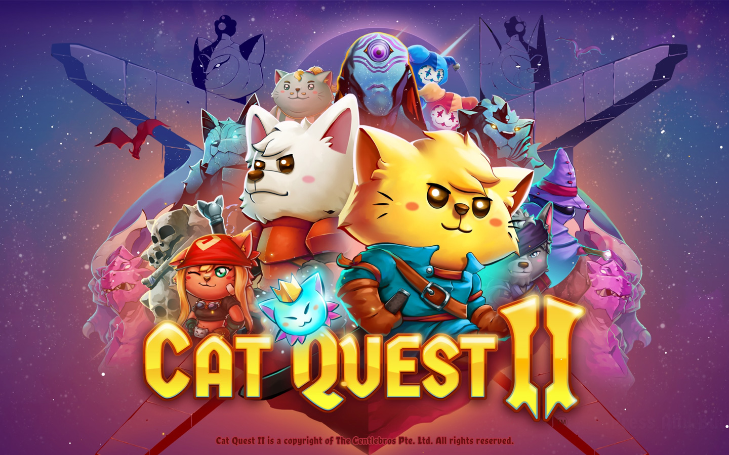 Cat Quest II Wallpaper in 1440x900