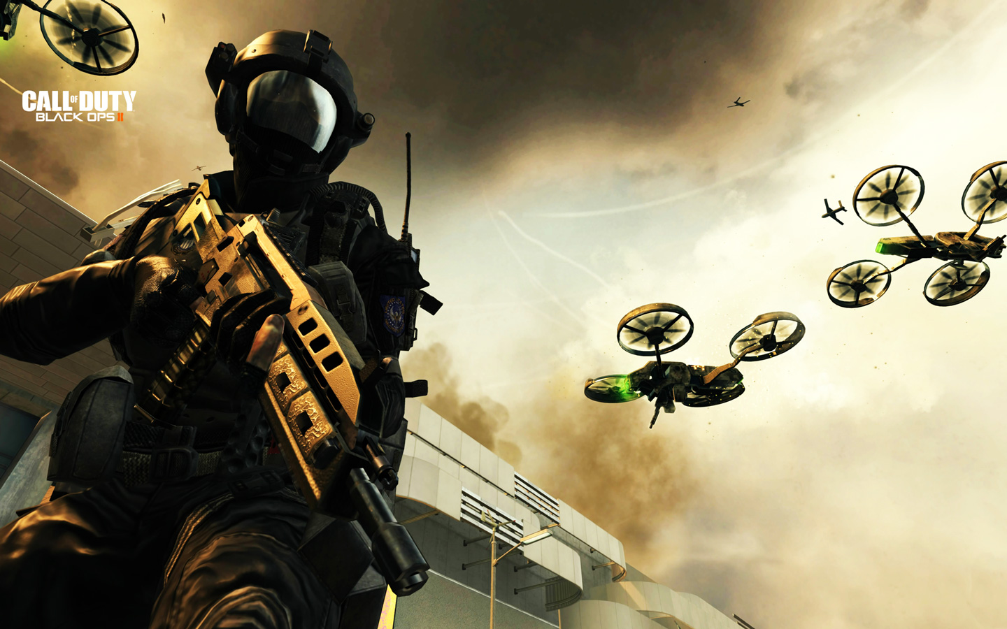 Call of Duty: Black Ops 2 Wallpaper in 1440x900