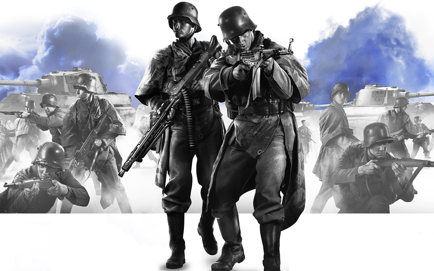 Free Company of Heroes 2 Wallpaper in 1440x900