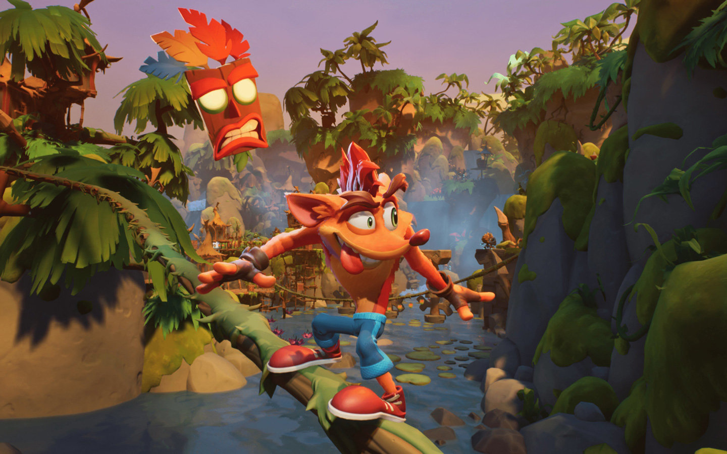 Crash Bandicoot 4: It's About Time Wallpaper in 1440x900