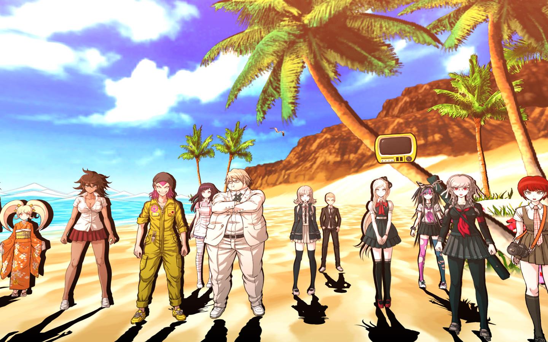 Free Danganronpa 2: Goodbye Despair Wallpaper in 1440x900