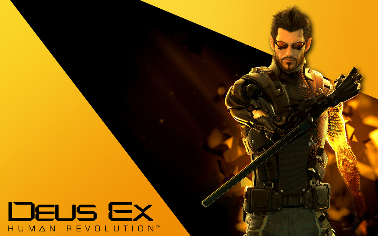 Deus Ex: Human Revolution Wallpaper in 1440x900
