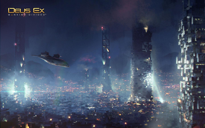 Free Deus Ex: Mankind Divided Wallpaper in 1440x900