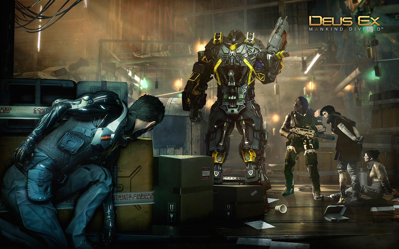 Deus Ex: Mankind Divided Wallpaper in 1440x900