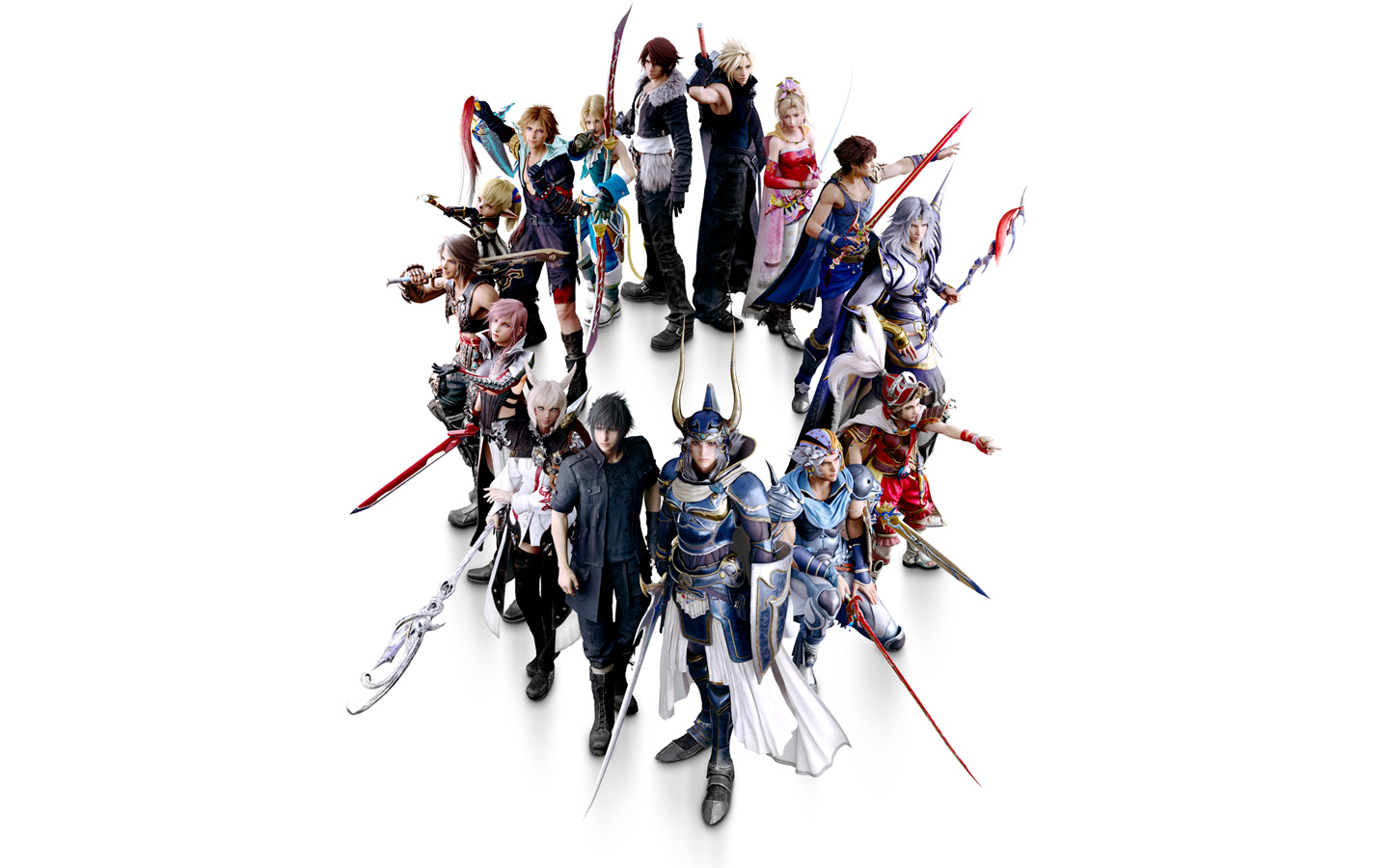 Free Dissidia Final Fantasy NT Wallpaper in 1440x900