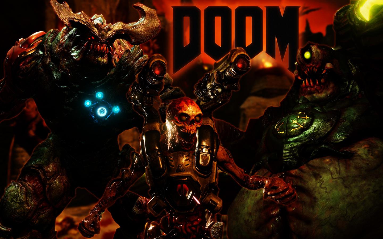 Free Doom (2016) Wallpaper in 1440x900