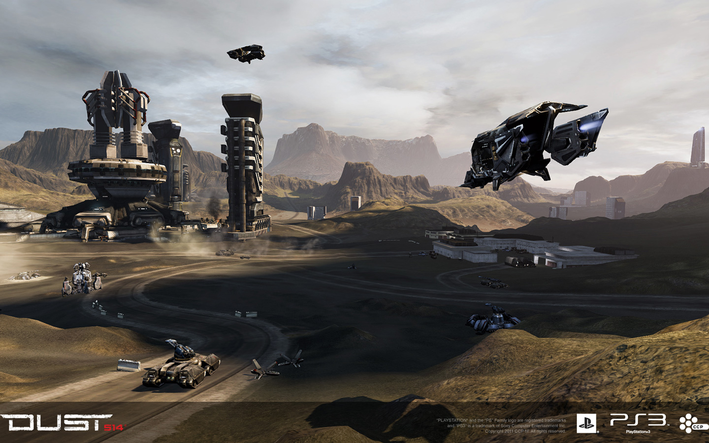 Free Dust 514 Wallpaper in 1440x900