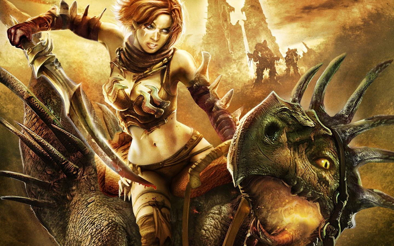 Free Golden Axe: Beast Rider Wallpaper in 1440x900