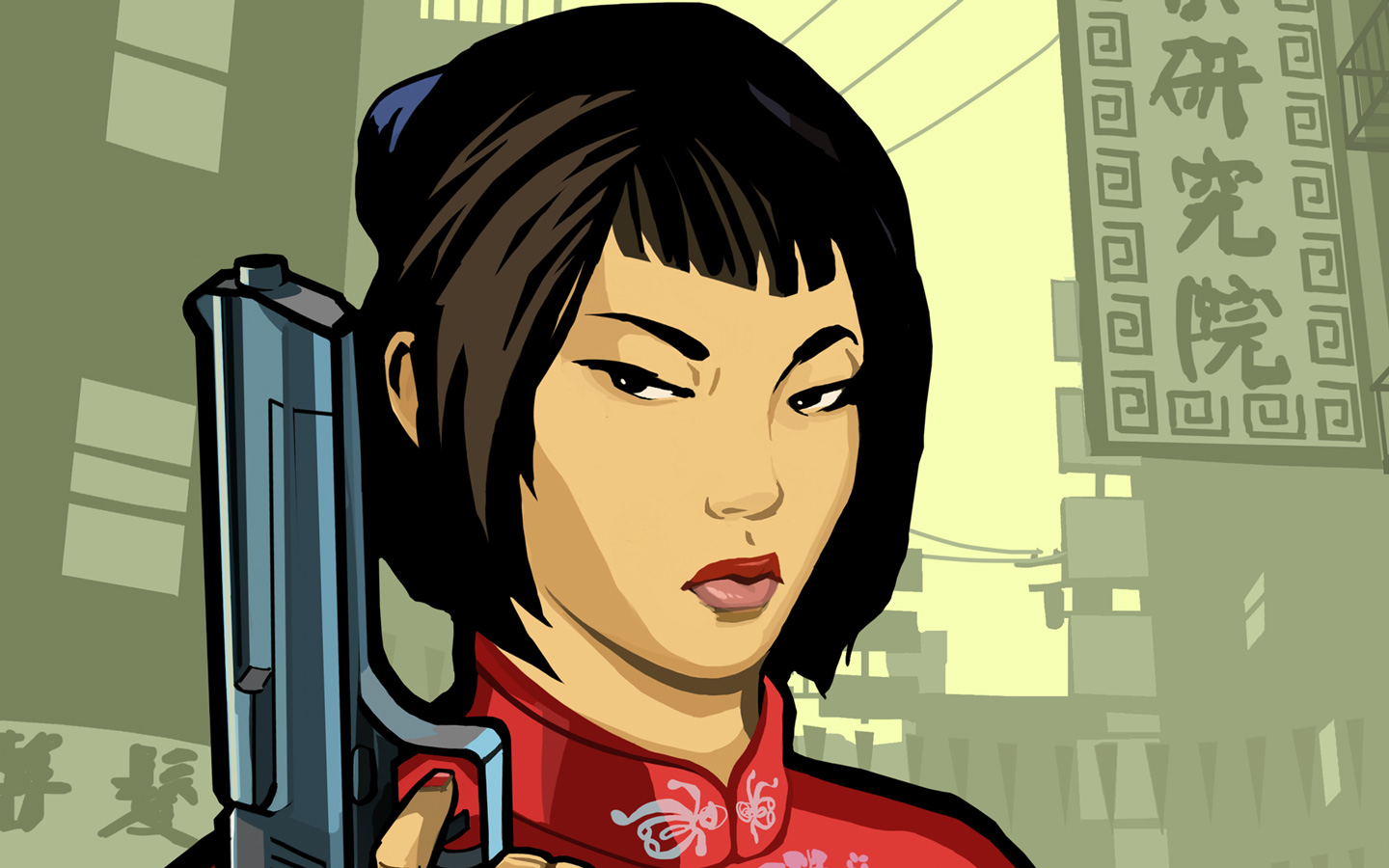Free Grand Theft Auto: Chinatown Wars Wallpaper in 1440x900