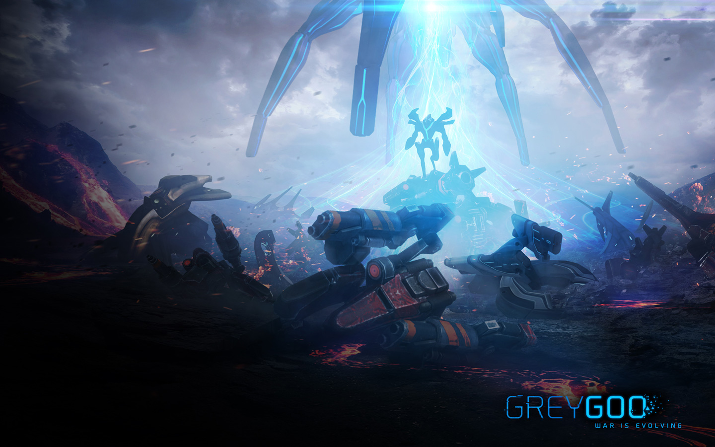 Free Grey Goo Wallpaper in 1440x900