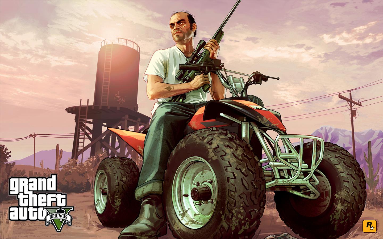 Grand Theft Auto V Wallpaper in 1440x900