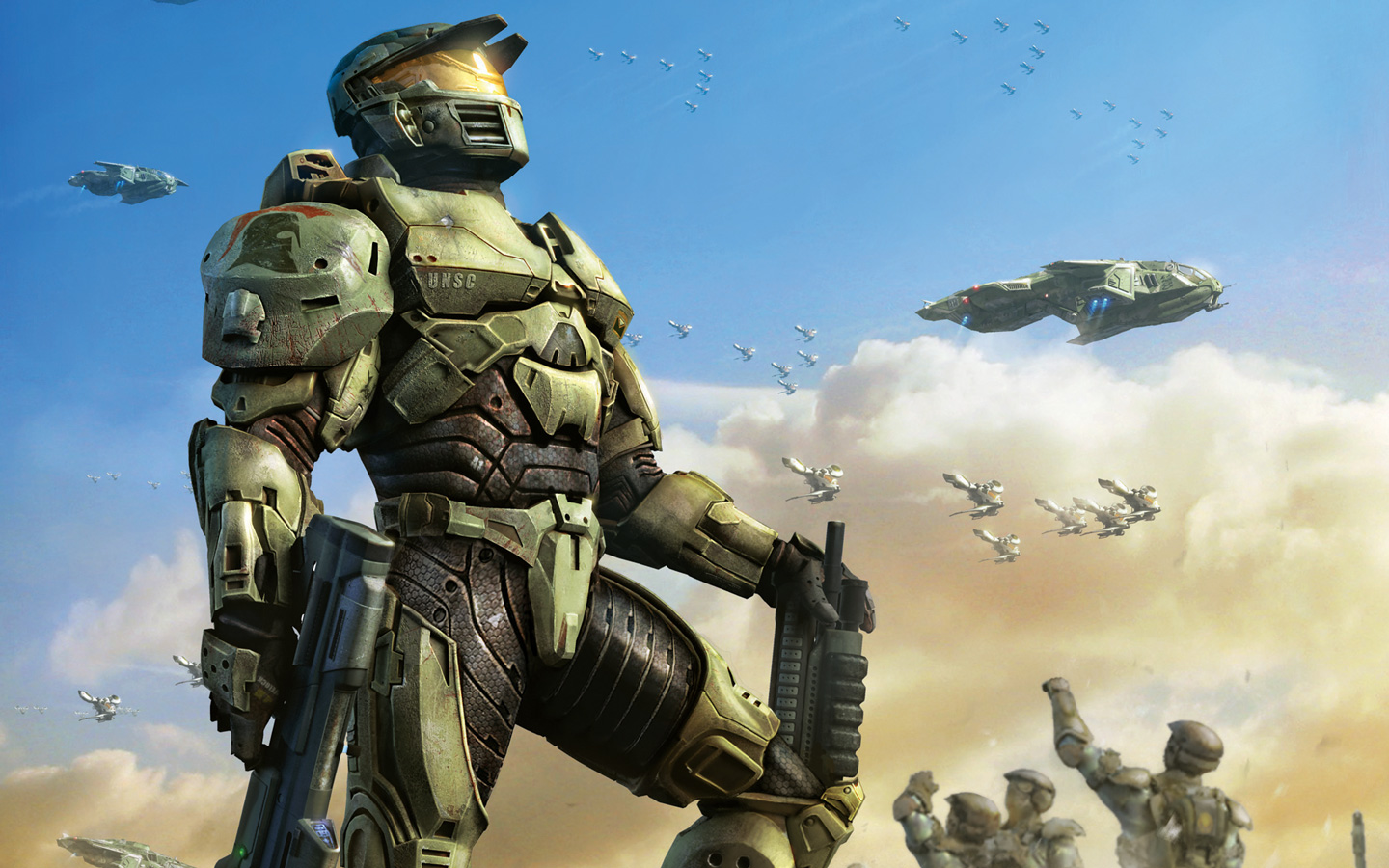 Halo Wars Wallpaper in 1440x900