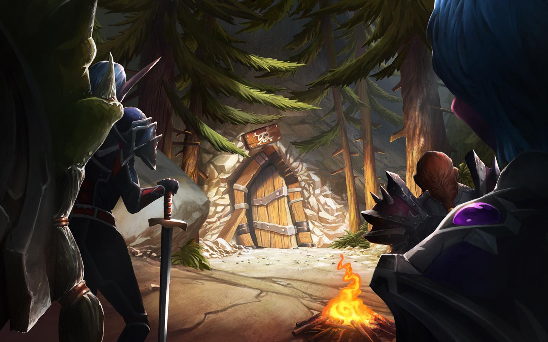 Free Hearthstone: Heroes of Warcraft Wallpaper in 1440x900