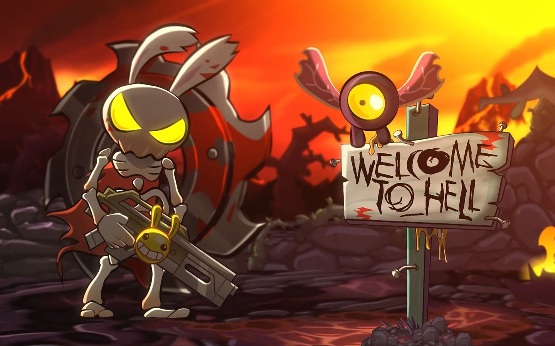 Hell Yeah! Wrath of the Dead Rabbit Wallpaper in 1440x900