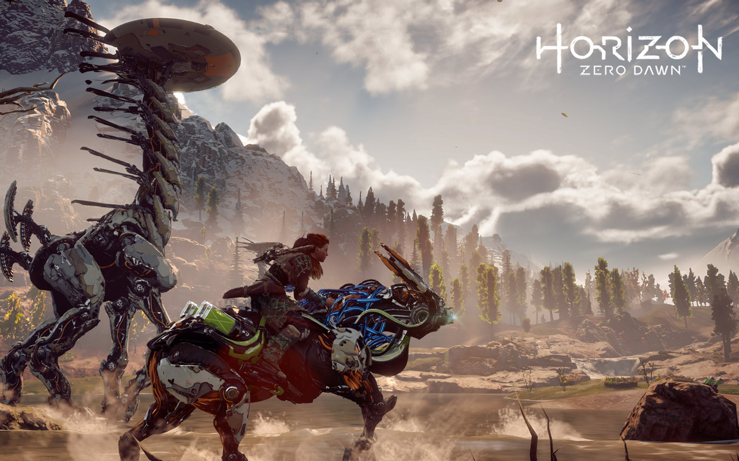 Free Horizon Zero Dawn Wallpaper in 1440x900