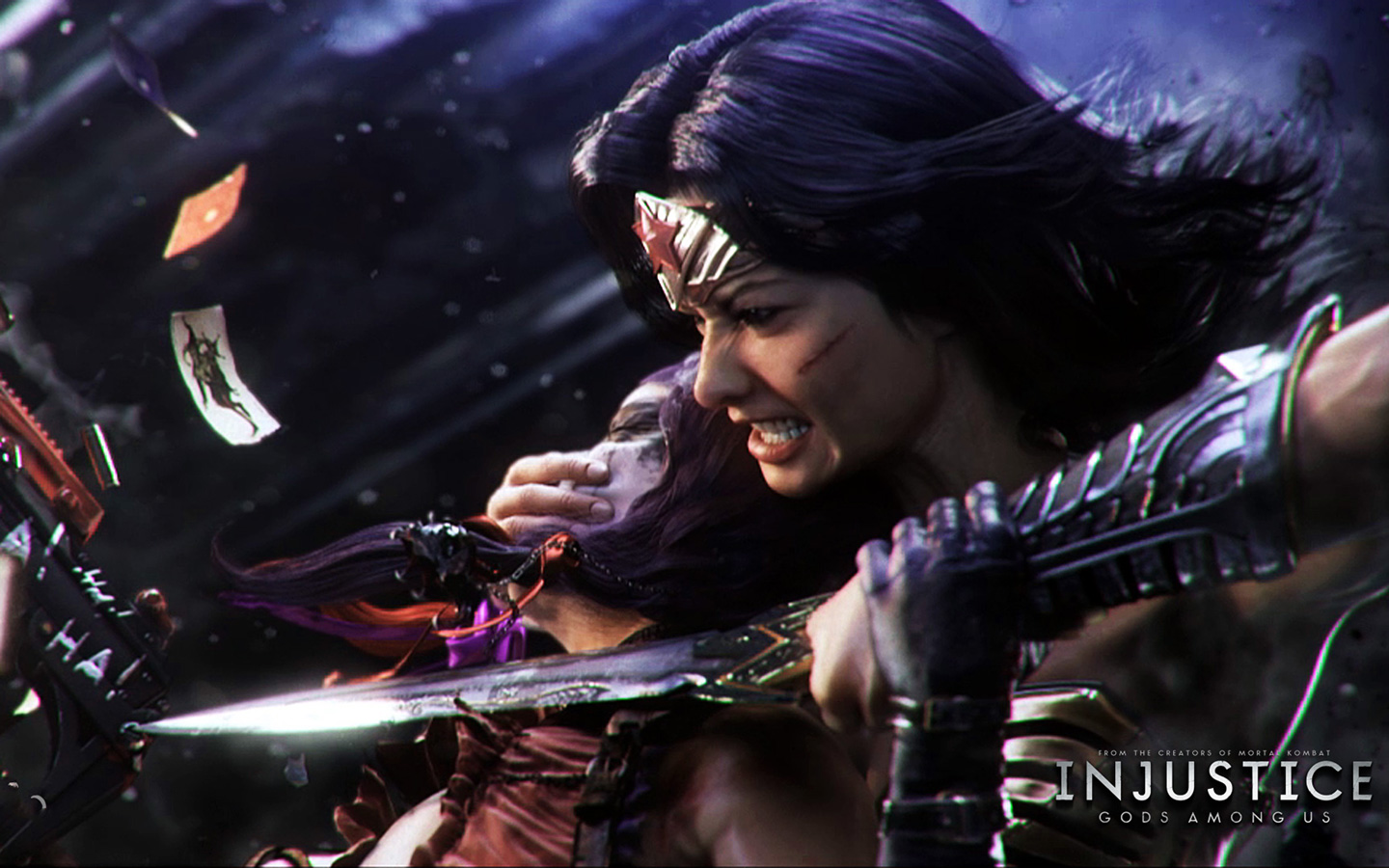 Free Injustice: Gods Among Us Wallpaper in 1440x900