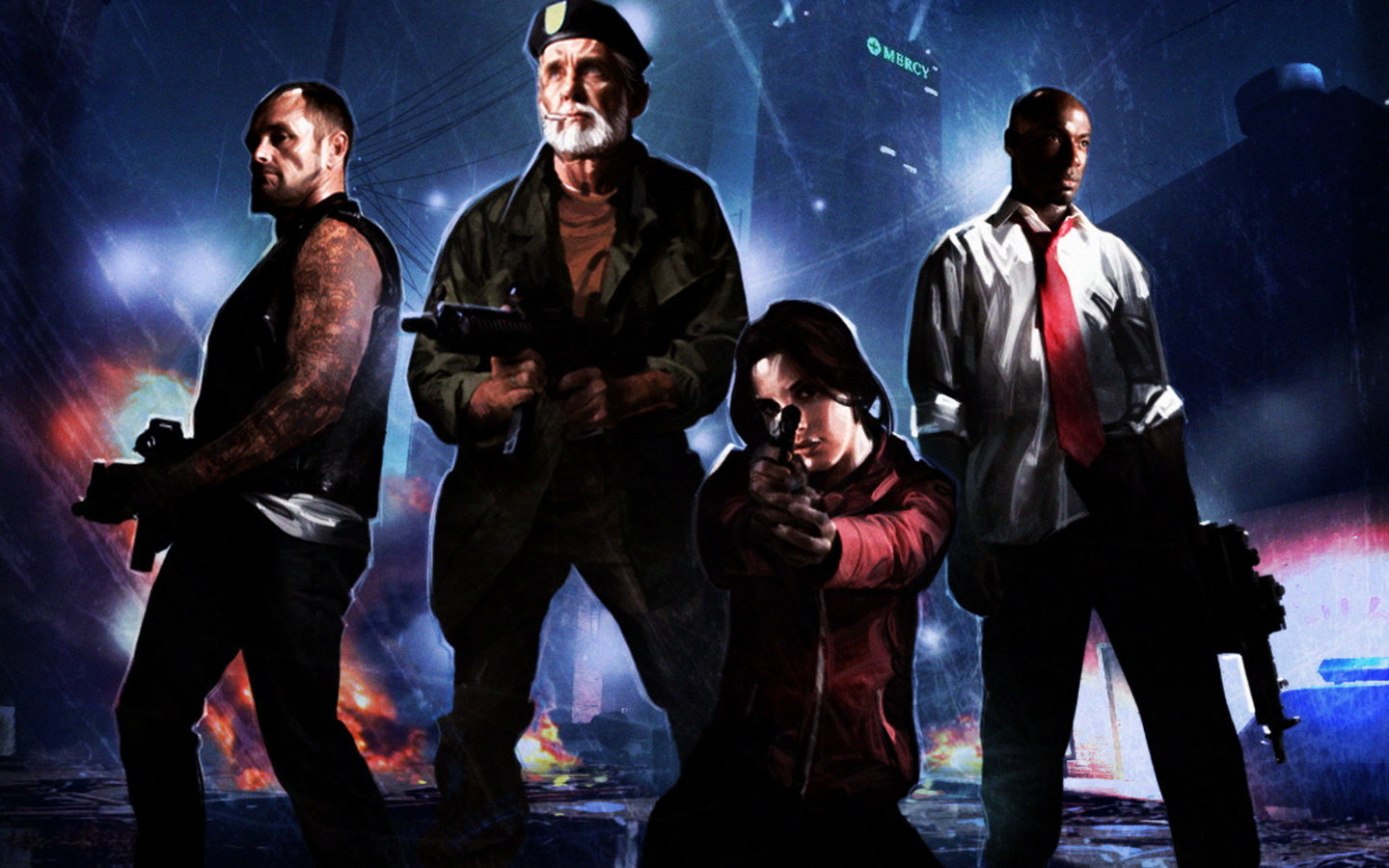 Left 4 Dead Wallpaper in 1440x900