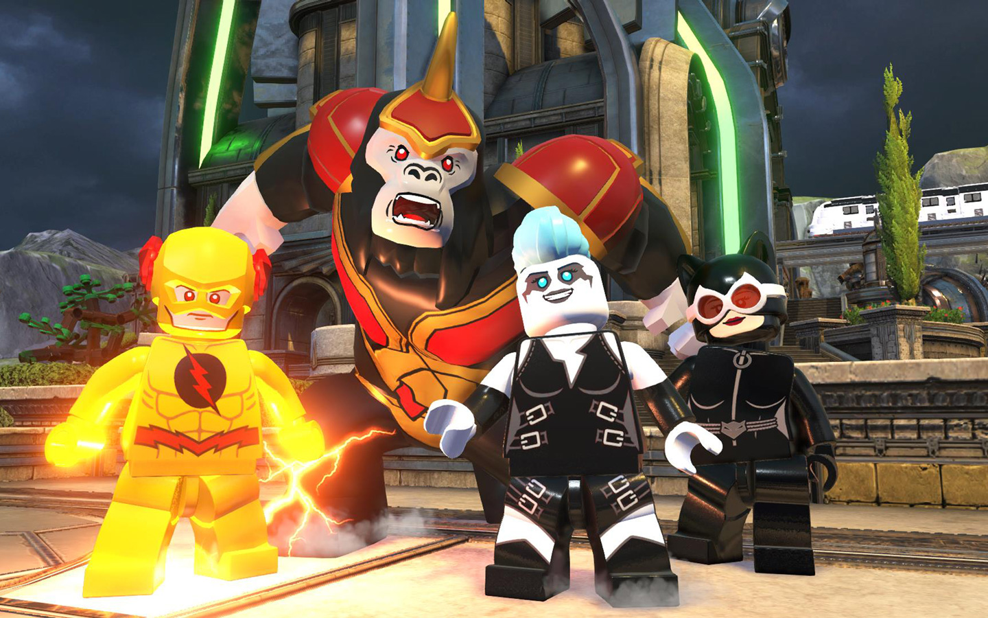 Free Lego DC Super Villains Wallpaper in 1440x900