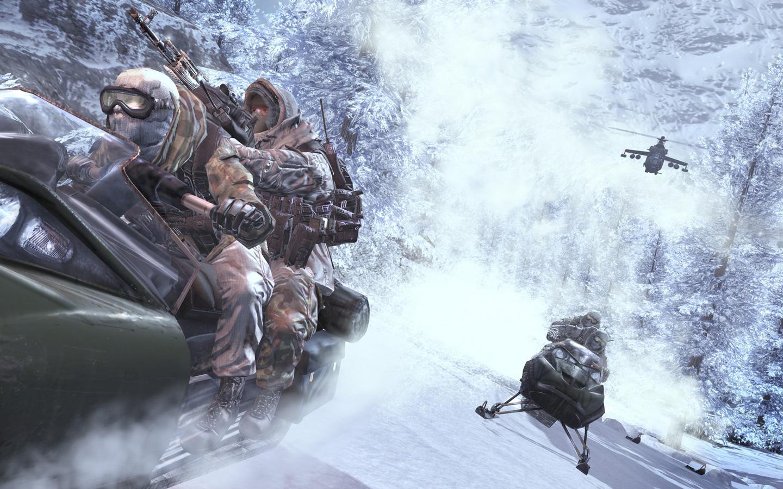 Free Call of Duty: Modern Warfare 2 Wallpaper in 1440x900