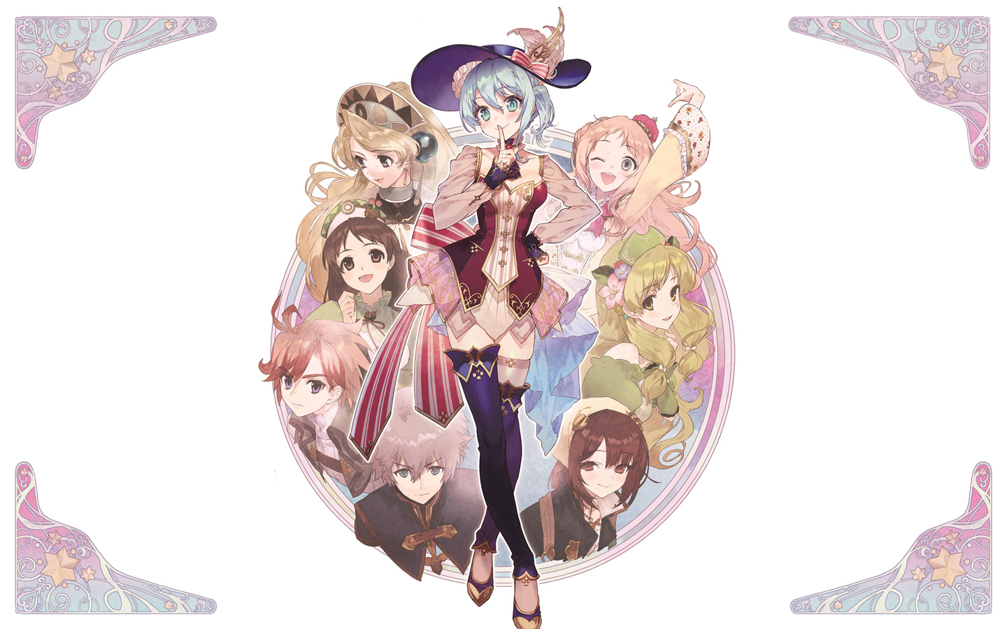 Free Nelke & the Legendary Alchemists: Ateliers of the New World Wallpaper in 1440x900