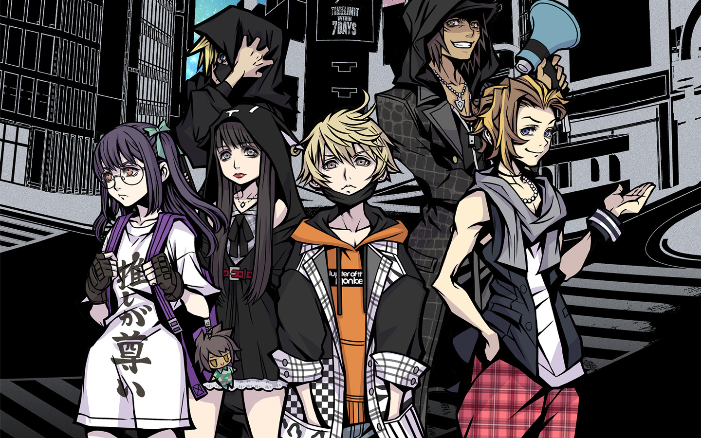 Free NEO: The World Ends with You Wallpaper in 1440x900