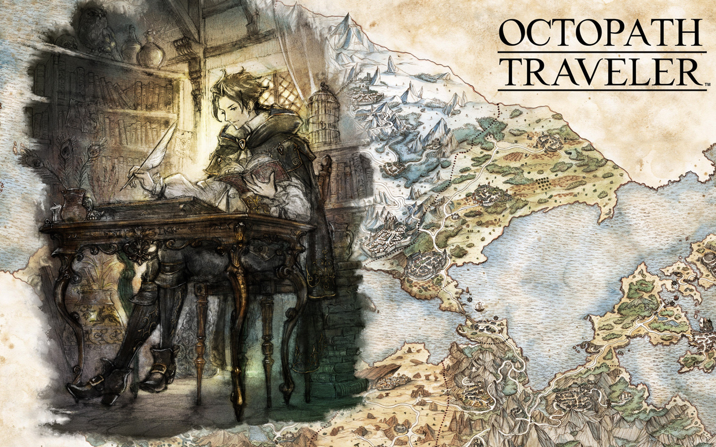 Free Octopath Traveler Wallpaper in 1440x900