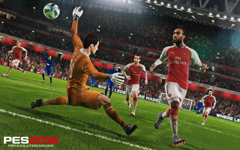 Free Pro Evolution Soccer 2018 Wallpaper in 1440x900