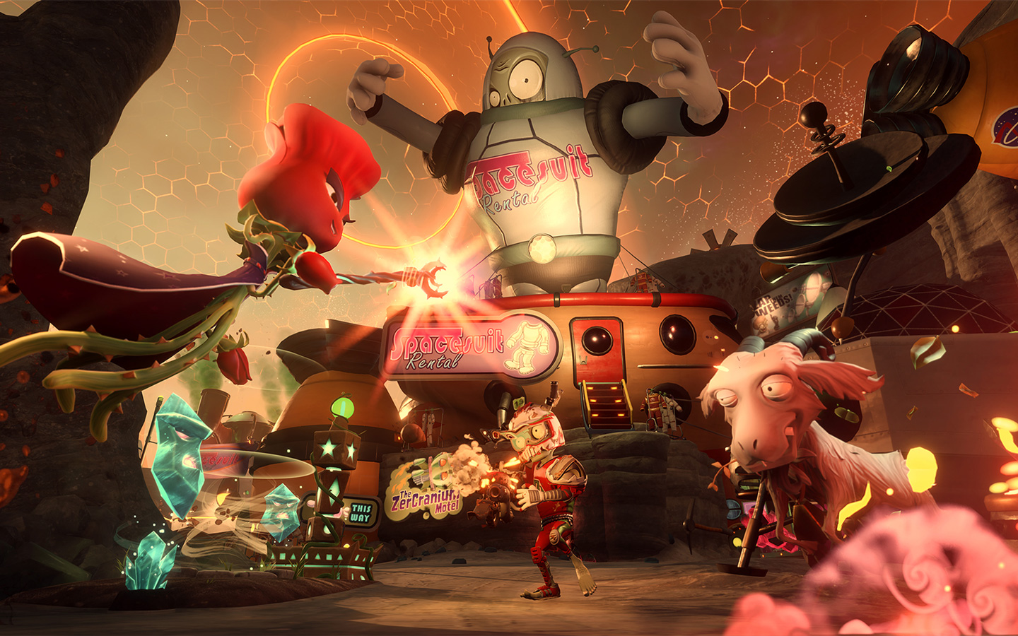Free Plants vs. Zombies: Garden Warfare 2 Wallpaper in 1440x900
